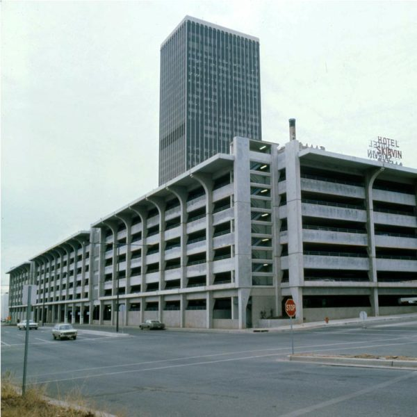 Central Oklahoma Transportation and Parking Authority Garage - Oklahoma City, OK. 1972