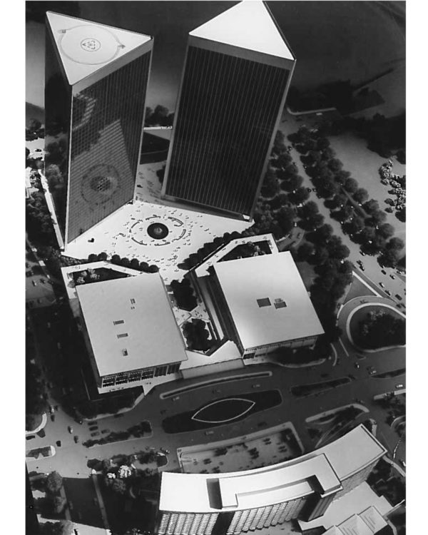 Century City Center Garage (Theme Building) - Los Angeles, CA. 1967